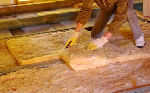 Ceiling and Wall Insulation